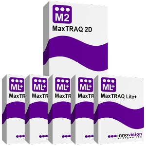 Bundle Package <br>MaxTRAQ 2D + 5 MaxTRAQ Lite+